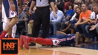 JR Smith Gets Technical Foul / Kelly Oubre Jr. Is Doing Exercises / Cavaliers vs Wizards