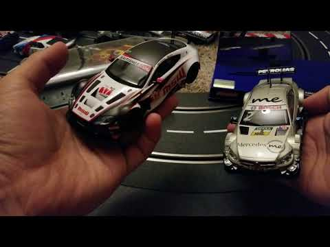 Difference between Scalextric and Carrera