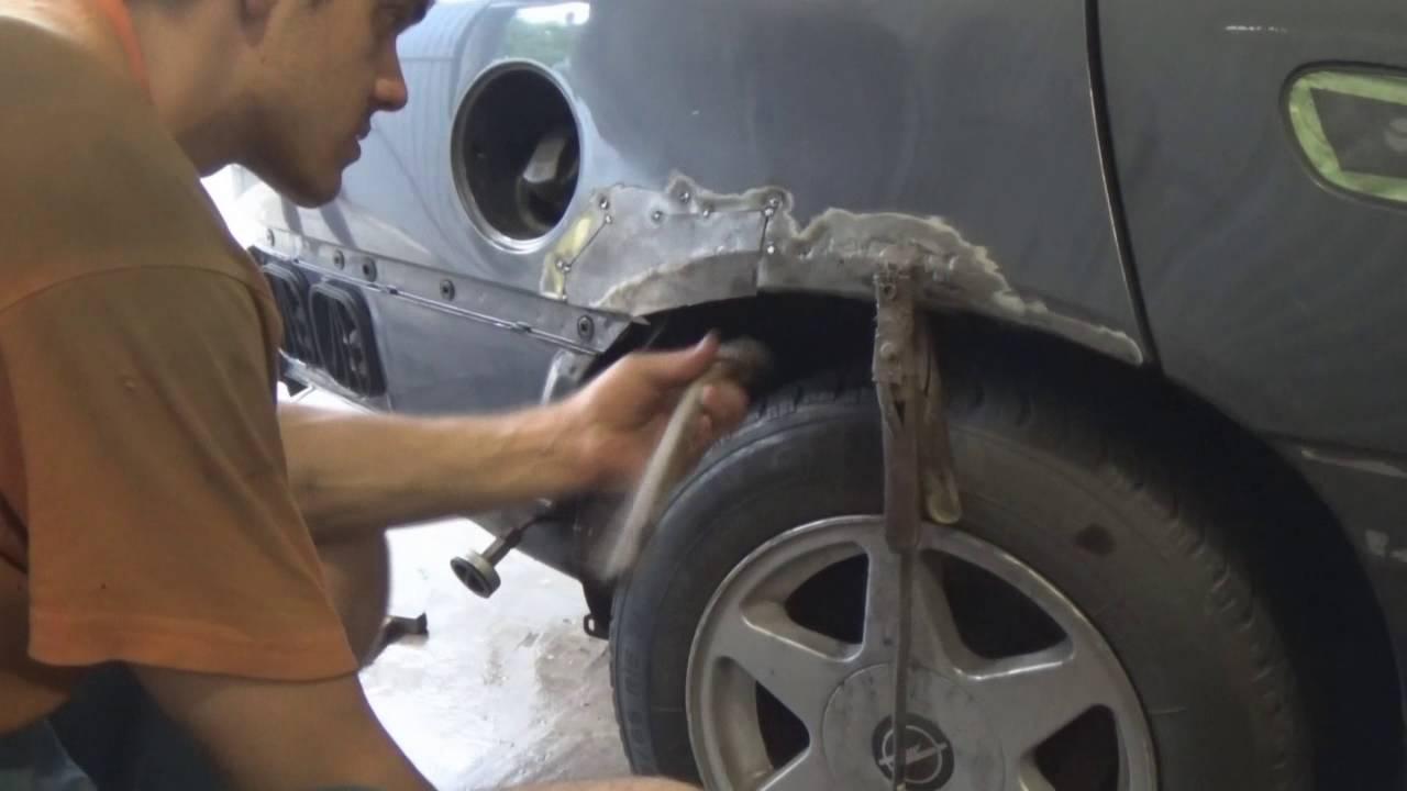 как заделать сквозную дыру на кузове авто Гисметео погоде, природе