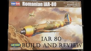 IAR 80 Build and Review (1/48 scale)