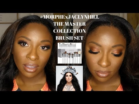 #MORPHEXJACLYNHILL THE MASTER COLLECTION BRUSH SET [REVIEW] | Doc McJohnson 👩🏾‍⚕️