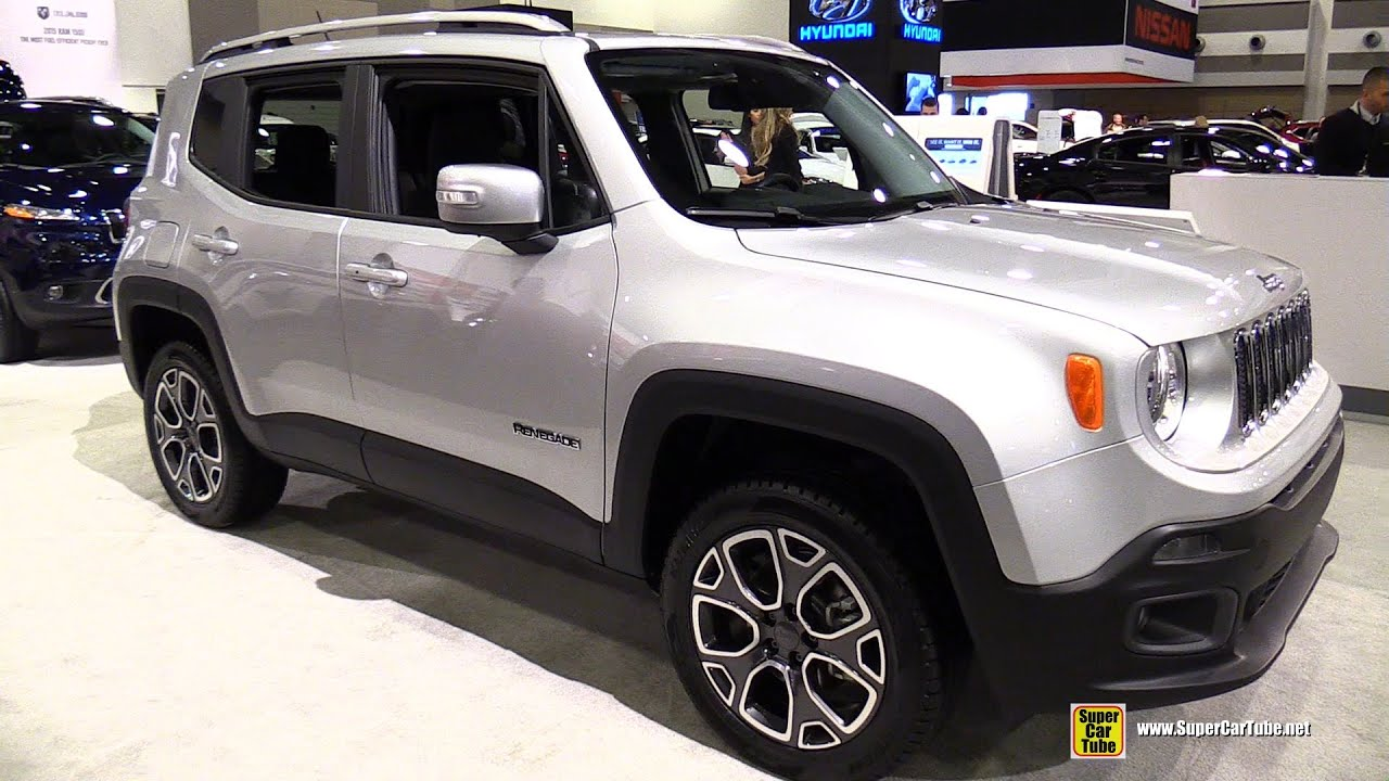 2015 jeep renegade limited 4x4 exterior and interior. Black Bedroom Furniture Sets. Home Design Ideas
