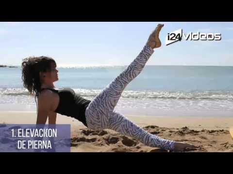 5 Ejercicios de pilates para reducir cintura, cadera y muslos