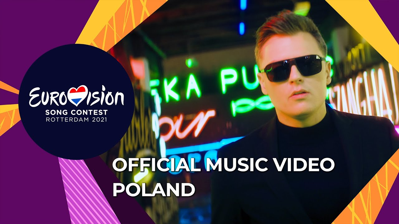 Rafal The Ride Poland Official Music Video Eurovision 2021 Youtube
