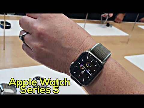 Apple Watch Series 5 Unboxing And Review II Smart Tech
