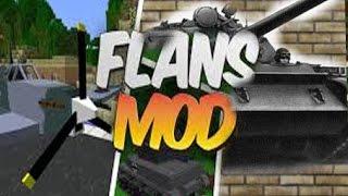 Обзор модов #12 [Flans mod] часть 5 танки, самолёты, военные джипы