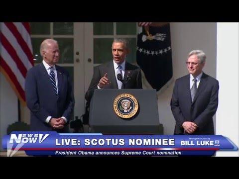 FNN: FULL President Obama Nominates Merrick Garland for Supreme Court - BREAKING NEWS