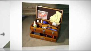 Portable Wood Tool Chests