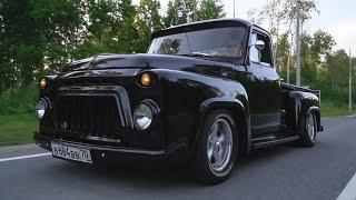 Лютый ПИКАП ИЗ ГАЗ 52 своими руками) V8 300сил