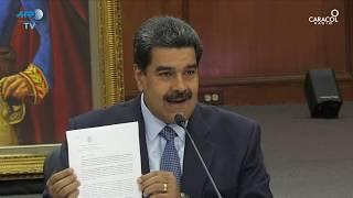 Maduro da ultimátum a Grupo de Lima en víspera de su investidura