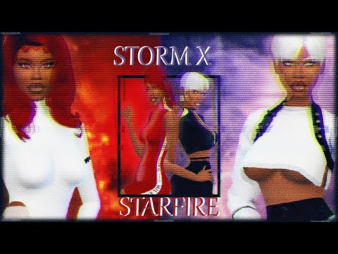 The Sims 4: CAS |STORM X STARFIRE INSPIRED: DC MEETS MARVEL FULL CC LIST from YouTube · Duration:  4 minutes 9 seconds