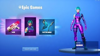 How To Get 'Wonder Skin Pack' for FREE in Fortnite! Fortnite Wonder Skin Free Unlock Method!