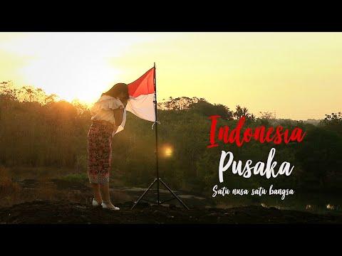 INDONESIA PUSAKA - SATU NUSA SATU BANGSA ( Lagu Nasional ) COVER - Ifan Suady Feat Putri Resky