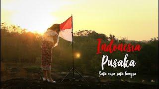 INDONESIA PUSAKA - SATU NUSA SATU BANGSA (Lagu Nasional) COVER / Ifan Suady Feat Putri Resky