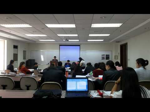 Asia Pacific Model United Nations - Committee Session