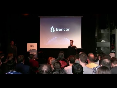 Bancor at Coinfest 2017 in Amsterdam