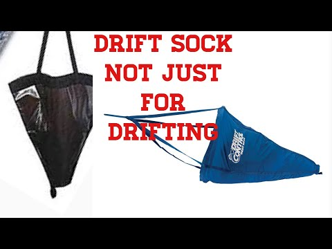 DRIFT SOCK FOR ANCHORING, STOP THAT SWAYING!!!!