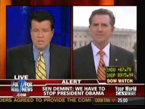 "Sen. Jim DeMint: Obama ""On A Rampage, We've Got To Stop Him"""