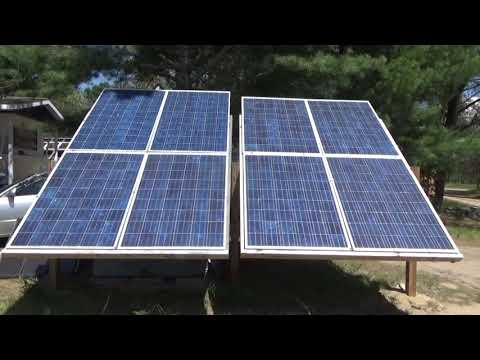 Mining Free Cryptocurrency Using Solar Power