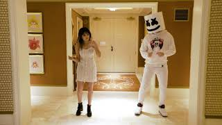 Marshmello and Shirley Setia take over Bollywood and dance to Kala Chashma