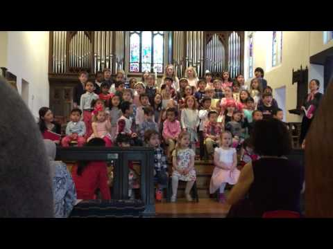 GOD BLESS THE USA by Lee Greenwood The Wellesley Montessori School Spring Celebration April 2017