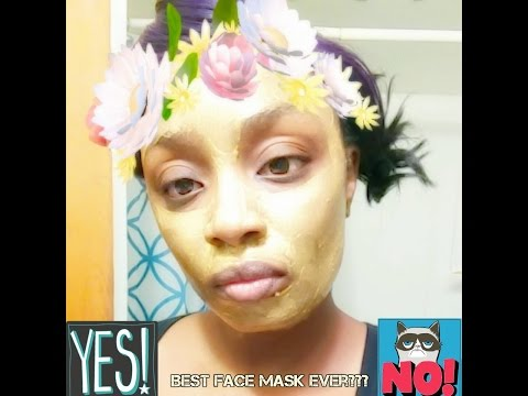 Best 24k Gold mask ever?  (The Holidays with Shena)