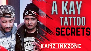 A- Kay Official Video  I M Inked Kamz Inkzone   Tattoo 2016