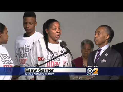 Family Of Eric Garner Thankful For ME's Homicide Ruling