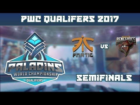 PWC Qualifiers: Semifinals - FNATIC vs. Renegades