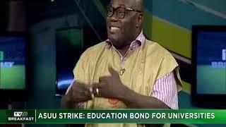 TVC Breakfast 22nd Nov. 2018|ASUU Strike