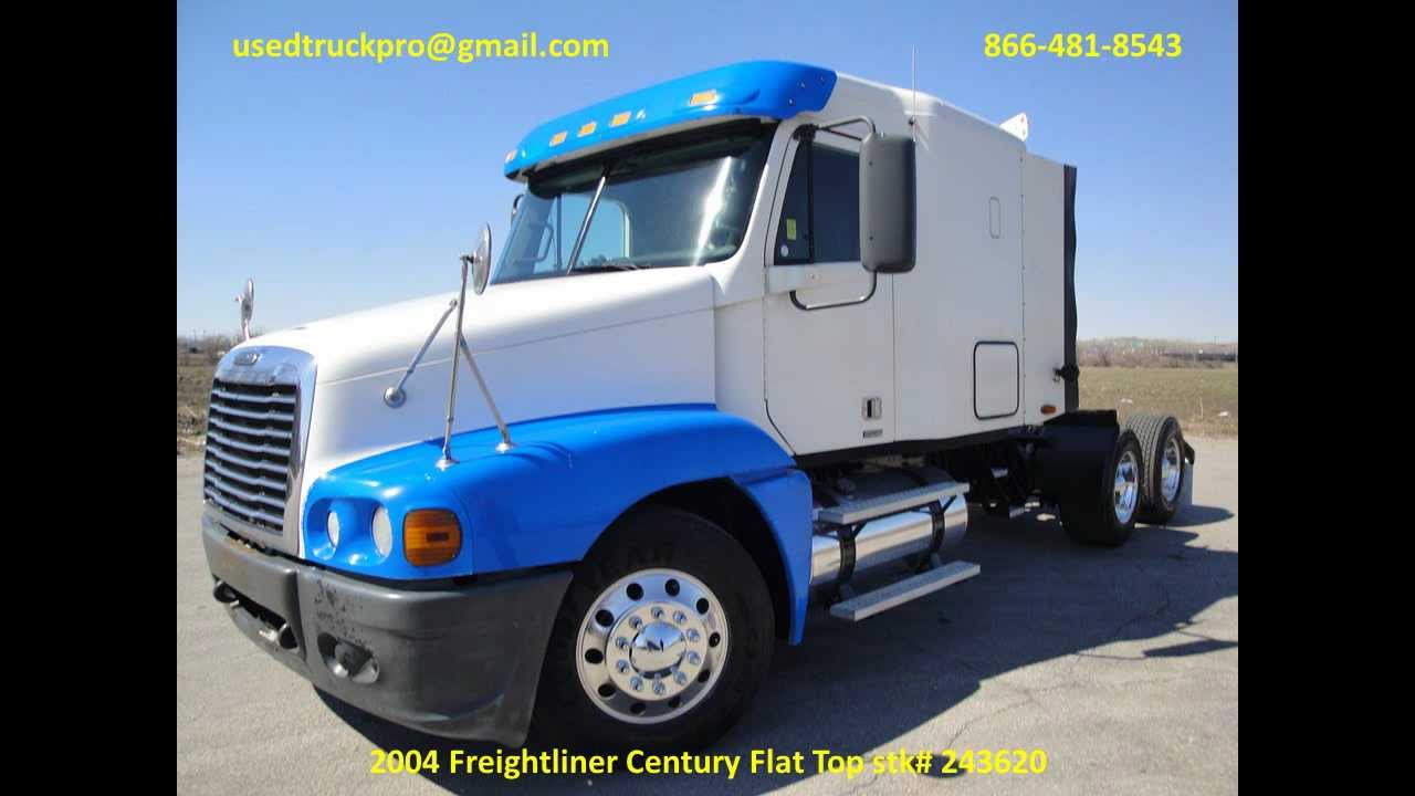 For Sale 2004 Freightliner Century Flat Top From Used