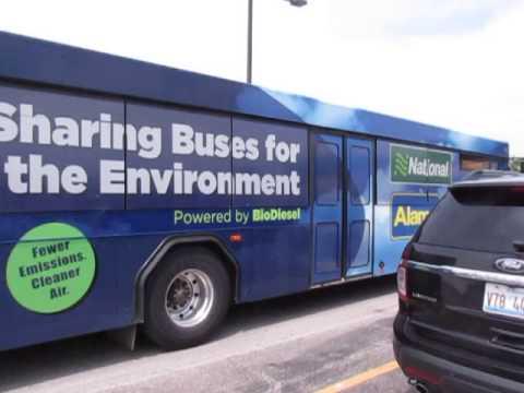Alamo Car Rental Shuttle Bus. May 2016.
