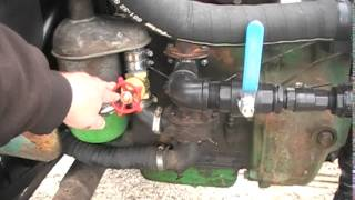 Explaining Switching From Gasoline To Woodgas And Back, Wood Gas Tractor Project