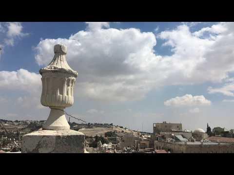 Jerusalém, Torre De Davi E Deserto Da Judéia, Notícias De Israel, Imagens Gravadas Antes Do COVID-19