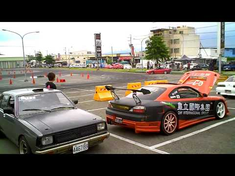Parking Lot Drifting in Taiwan