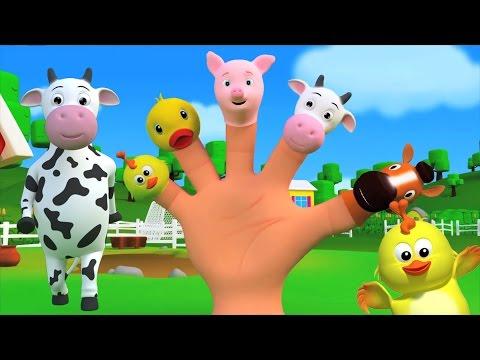 палец семейного рифму | детские песни | детские стишки компиляцию