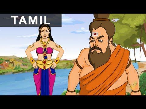 Kaveriyai Meeta Ganapathy(காவேரியை மீட்ட கணபதி)|Ganesha In Tamil|Animated / Cartoon Stories For Kids