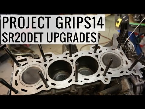 Building a more reliable SR20DET - Project GripS14