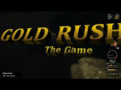"GOLD RUSH The Game /The ""Claim Jumper Mining Corporation"" Tier 2 Mobile Wash plant setup"