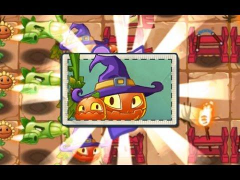 Plants Vs Zombies 2 Kung Fu World Día 17 y 18 Nueva Planta Calabaza Bruja