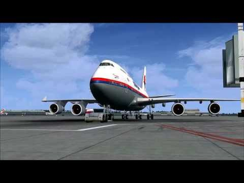 FSX HD PMDG MALAYSIA AIRLINES B747-400 & FTX GLOBAL KUALA LUMPUR INTL (WMKK) TO LANGKAWI INTL (WMKL)