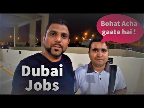 Labour Life #Dubai / Security Guard Job 🔥 OMG !!! He is a Singer !!! 🔥Jobs & Worker Life #ScorpDxb