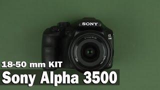 Розпакування Sony Alpha 3500 18-50mm Kit