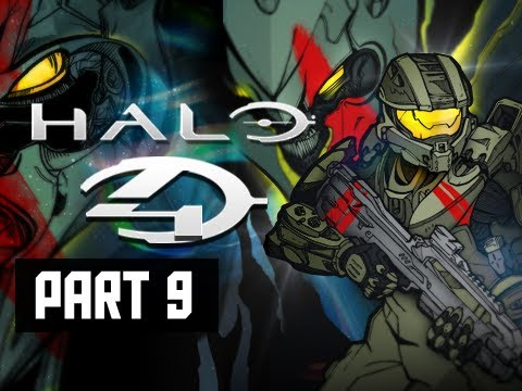 Halo 4 Walkthrough - Part 9 Campaign Scorpian & Mantis Let's Play Gameplay Commentary