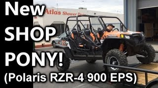 New Shop Pony - Polaris RZR-4 900 EPS Walk Around (Sound System Coming Soon!)