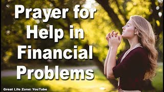 Prayer for Help in Financial Problems