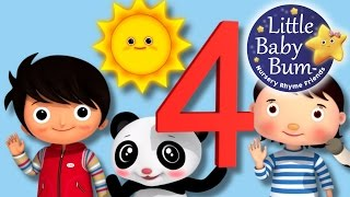 Learn with Little Baby Bum | The Number 4 Song | Nursery Rhymes for Babies | Songs for Kids