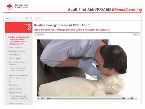 First Aid/CPR/AED - Blended Learning Program