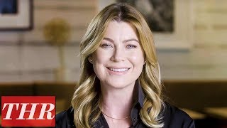 Ellen Pompeo: 'Grey's Anatomy,' Motherhood, & 'Finish That Sentence!' | THR
