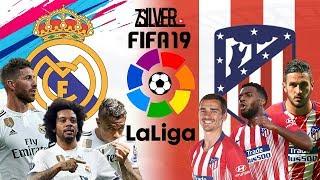 FIFA 19 - เรอัล มาดริด VS แอตเลติโก้ มาดริด - ลาลีกาสเปน